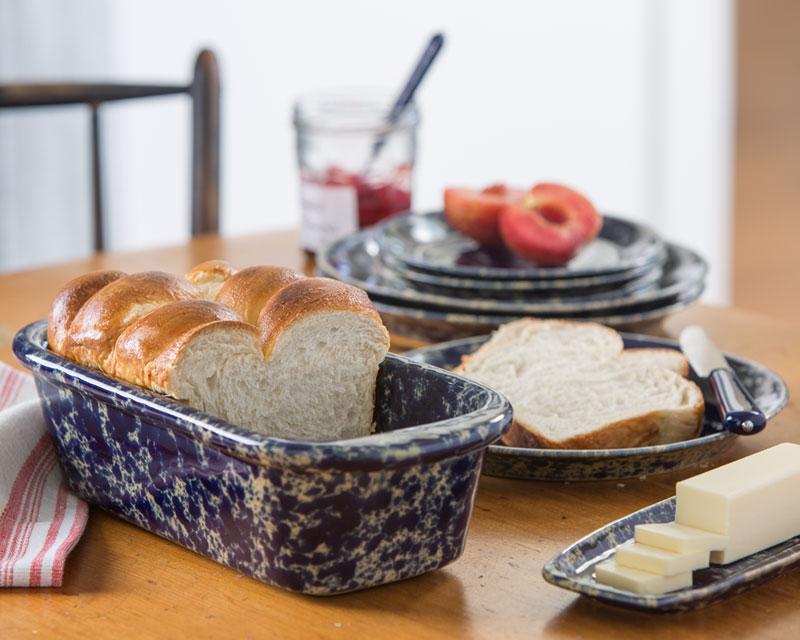 Loaf Pan Stoneware Pottery Bakeware Bennington Potters